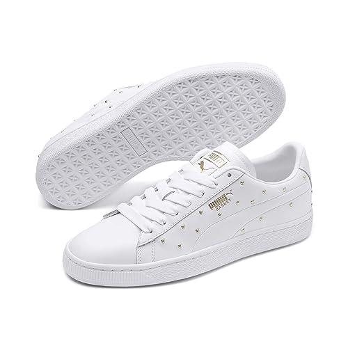 Puma Basket Studs Wn's, Sneakers Basses Femme