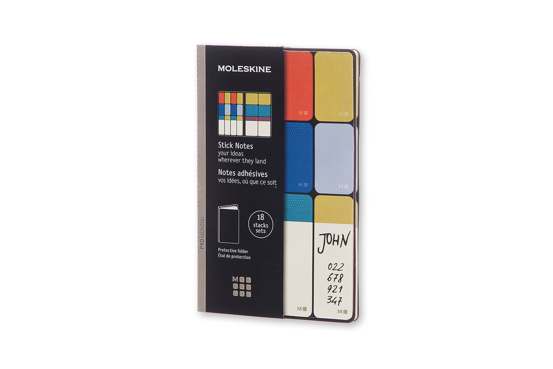 Moleskine Stick Notes Pocket Fullcolour (8051272891621)
