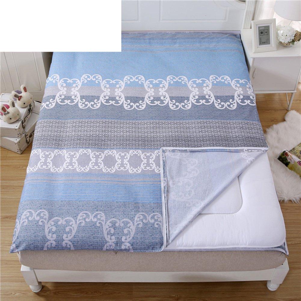 HJYSGSD Baumwolle bettbezug luxuriöses weich komfortabel Zip licht atmungsaktiv nachhaltige verhindern sie allergie-P 135x190cm(53x75inch)