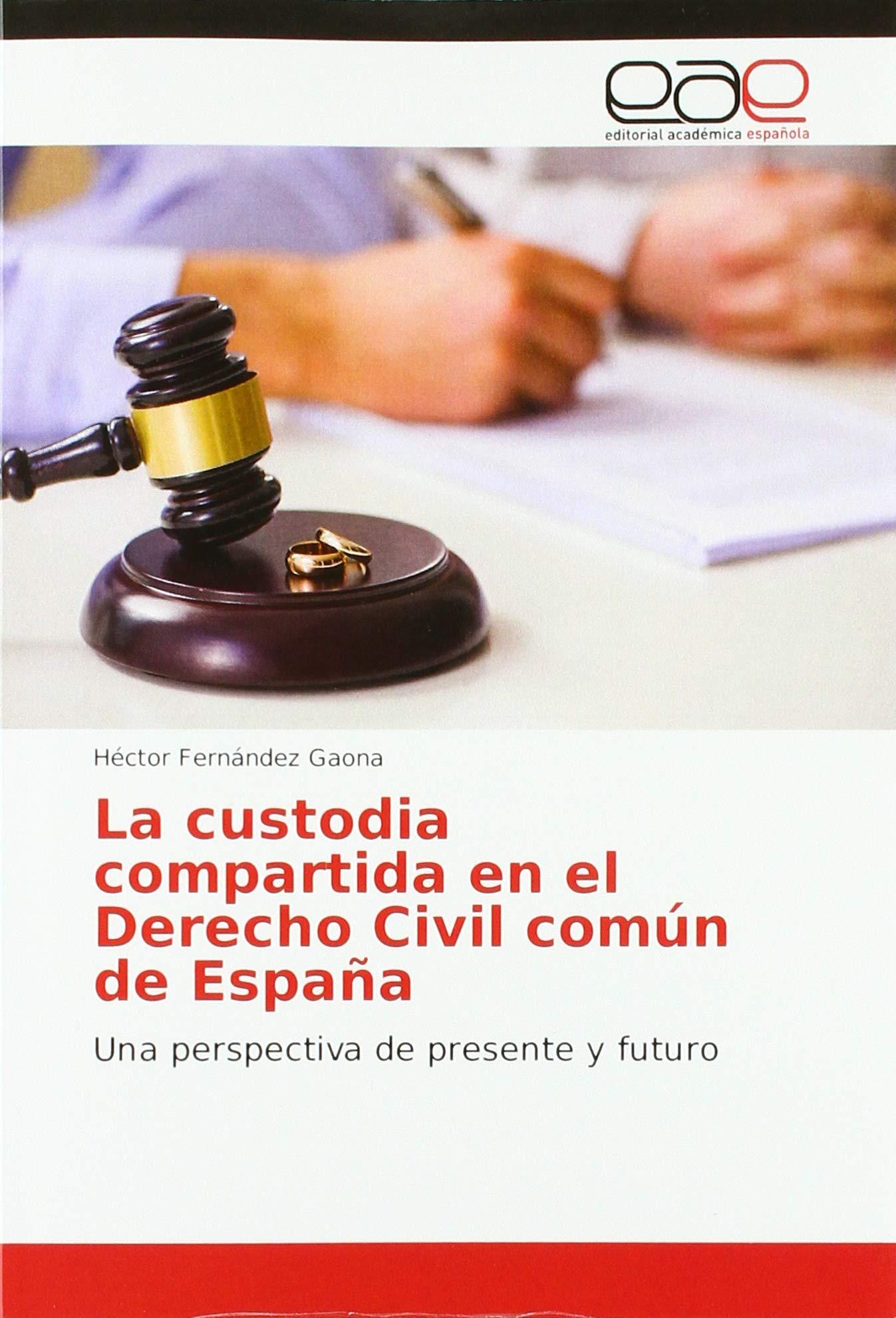 La custodia compartida en el Derecho Civil común de España: Una ...