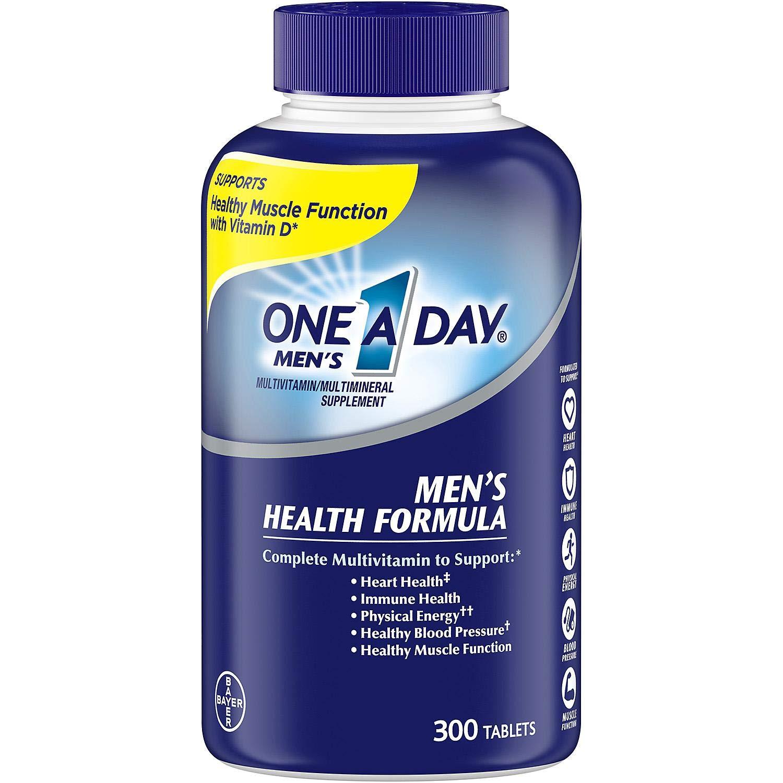 One A Day Men's Health Formula Multivitamin 300 Counts