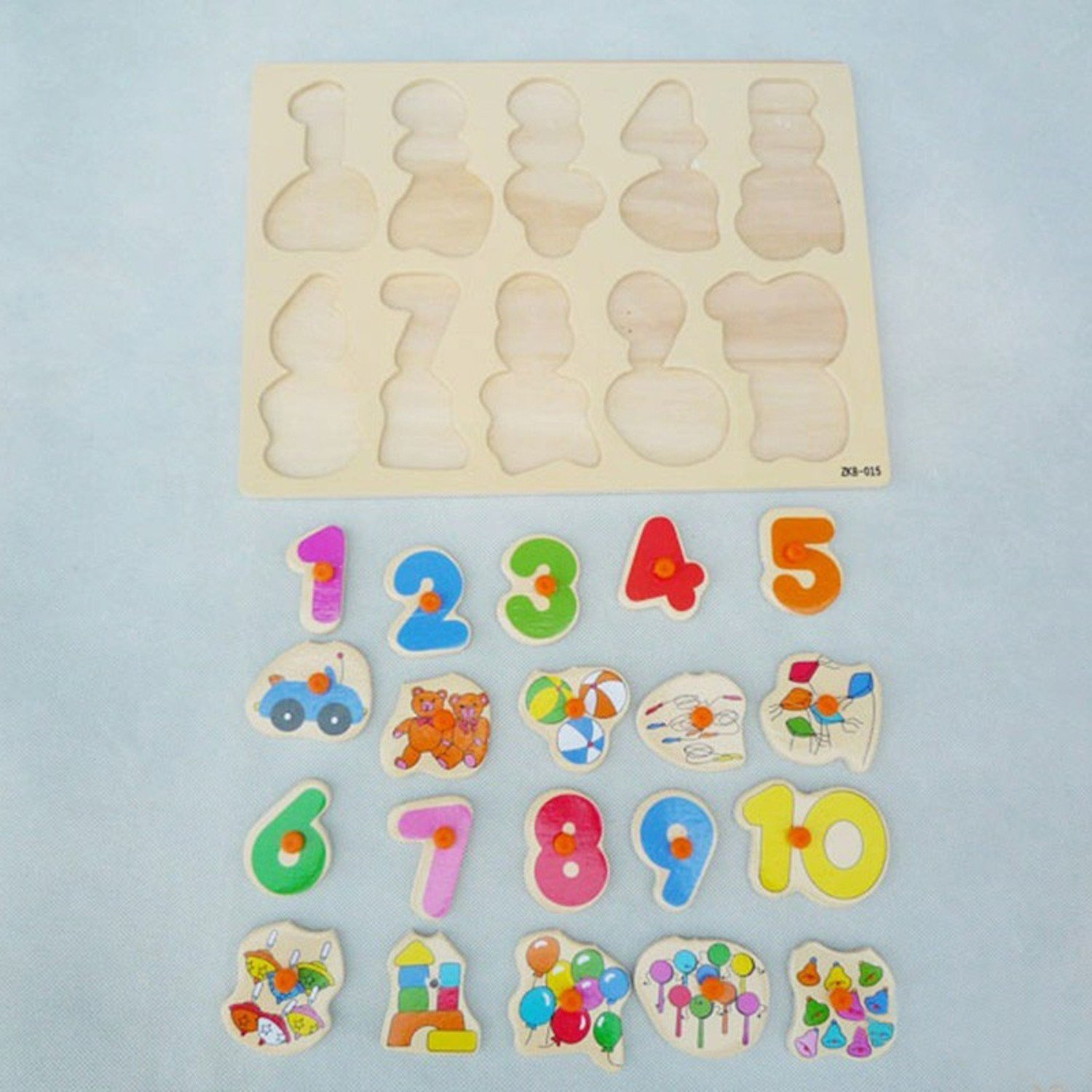 Learning Journey Lift And Learn Toys Number Slide Puzzle Fun Way To Improve Counting Skills Durable Wooden Pieces Are Child Friendly.