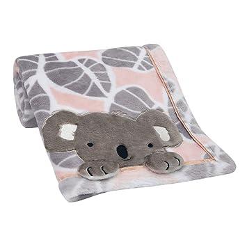 Amazon.com: Manta de bebé de Lambs & Ivy Calypso – rosa ...
