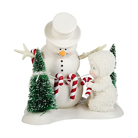 Department 56 Snowbabies Classics Peppermint Forest Figurine, 4.75 inch
