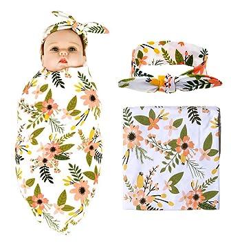Amazon.com: Bassion - Manta para recién nacido con diseño de ...