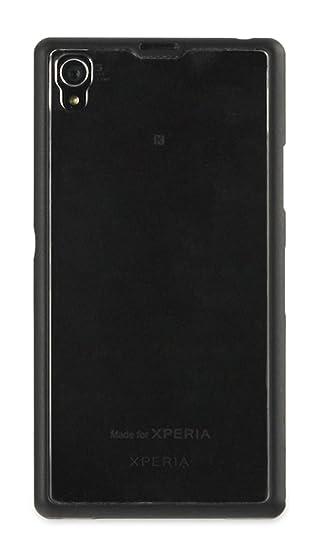 Sony Hard Rubber Case - Carcasa para Sony Xperia Z1, negro ...