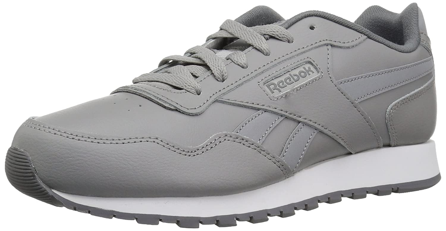 Reebok Men's Classic Harman Run Sneaker B077ZC9XFS 4.5 D(M) US|Usa-tin Grey/Alloy/White/Cinder