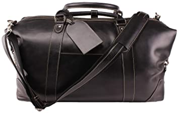 Image Unavailable. Image not available for. Color  Viosi Vintage Expandable Duffel  Bag Leather Weekender Luggage Travel ... e62aca7e73fa6