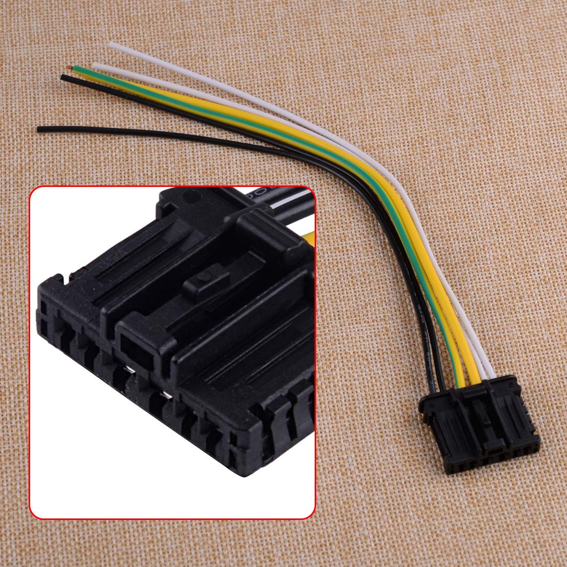 CITALL Rear Tail Light Loom Wiring Connector