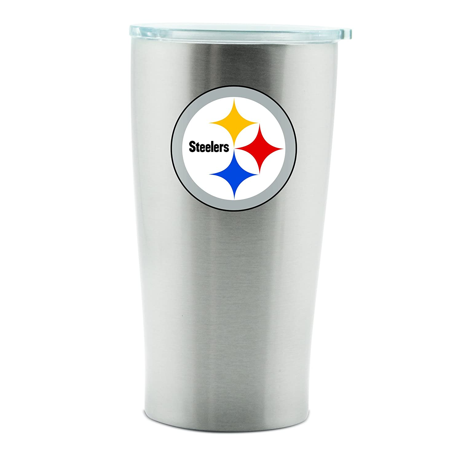 Amazon.com: Pittsburgh Steelers Thermo Copa 14oz Acero ...