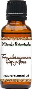 Miracle Botanicals Frankincense Papyrifera Essential Oil - 100% Pure Boswellia Papyrifera - Therapeutic Grade (30ML)