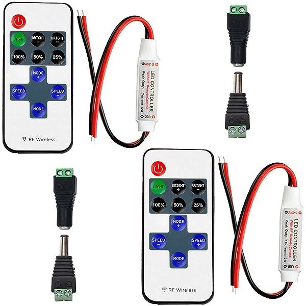 LED Funk Dimmer//Schalter 12V DC Gleichspannung mit Fernbedienung für alle...