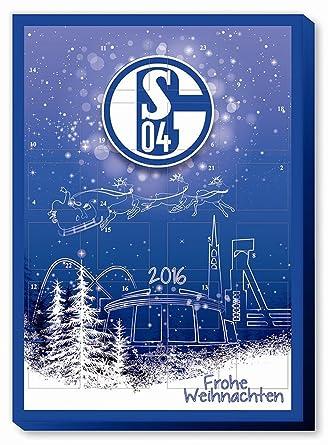 Schalke Bilder Weihnachten.S04 Fc Schalke 04 Adventskalender 2015 Schokolade Weihnachten