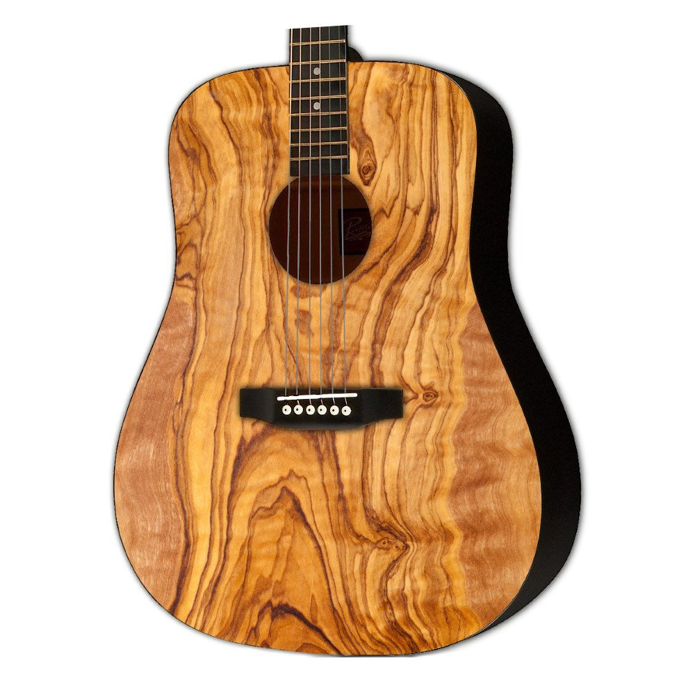 Graphic Acoustic Guitar WOODSHOP EXOTIC TIMBER Design