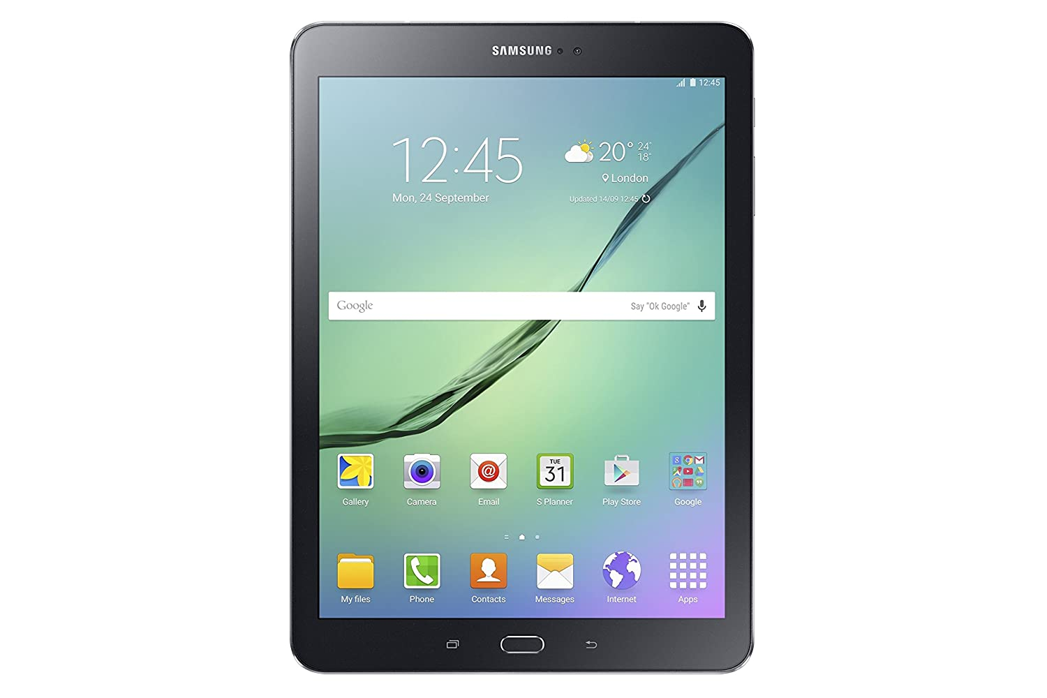 "Samsung SM-T819NZKEITV Galaxy Tab S2 Tablet, Display da 9.7"", Processore da 1.8 GHz, RAM 3 GB, HDD 32 GB, Nero [Versione Italiana]"
