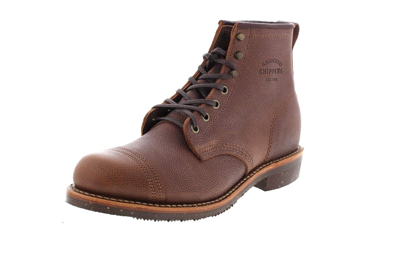 Chippewa Boots 6' Pebbled Full Grain 1901G35 D Brown