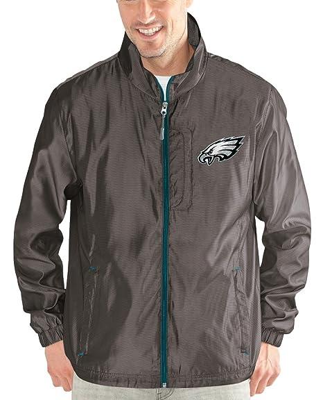 Philadelphia Eagles NFL G-III Executive Full Zip Premium Mens Jacket