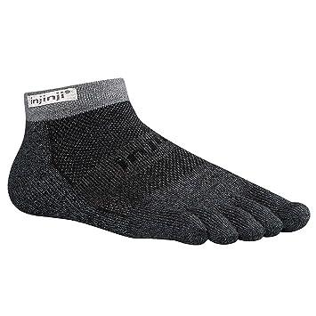 Vibram Injinji Trail Micro - Calcetines de cinco dedos granito Talla:M (40.5-44): Amazon.es: Deportes y aire libre