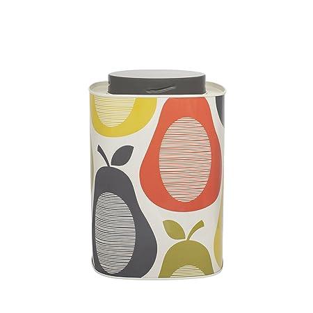 Orla Kiely Pear Print Caddy Tincanister Amazon Kitchen Home