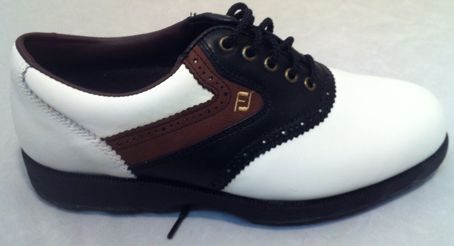 725be35da67d08 FootJoy Soft-Joys Terrains Waterproof Golf Shoes 57614 4M: Amazon.co.uk:  Sports & Outdoors