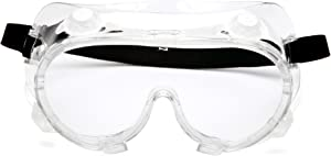 Pyramex G204t Indirect Vent, Chemical Splash Anti-fog Goggles