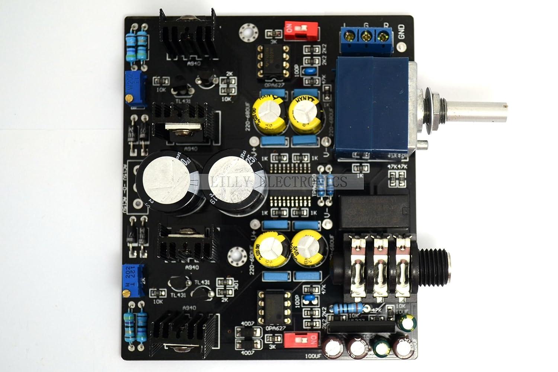 Tpa6120 A Ne5534 Kopfhrer Amp Board Stereo Adc Upc1237 Schutz Circuit Alle Produkte