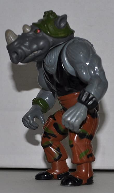 Amazon.com: clásico – Rocksteady (Soft Head) (1988) – Figura ...