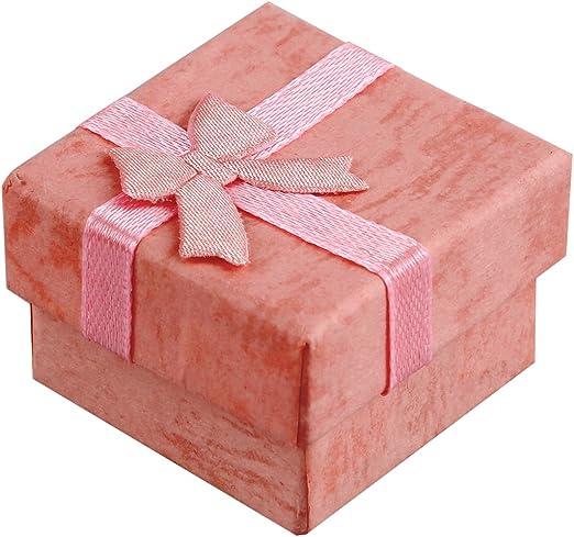 SODIAL 24pzs Caja de regalo de esposicion de joya arete anollo ...