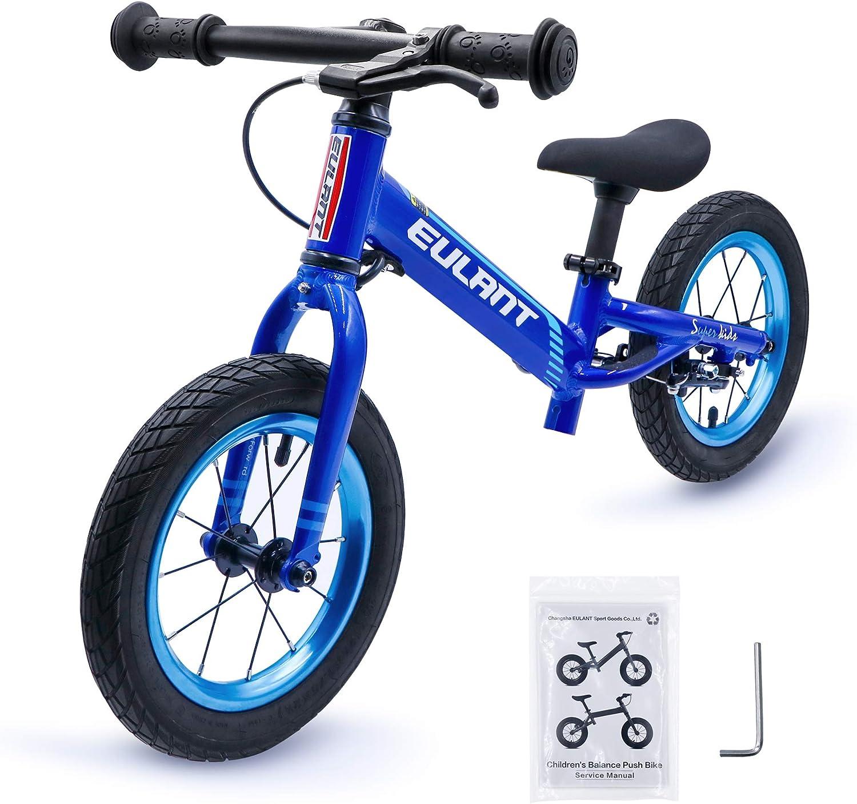 EULANT Bicicleta Sin Pedales para Niños de 2-6 años, Bicicleta de ...