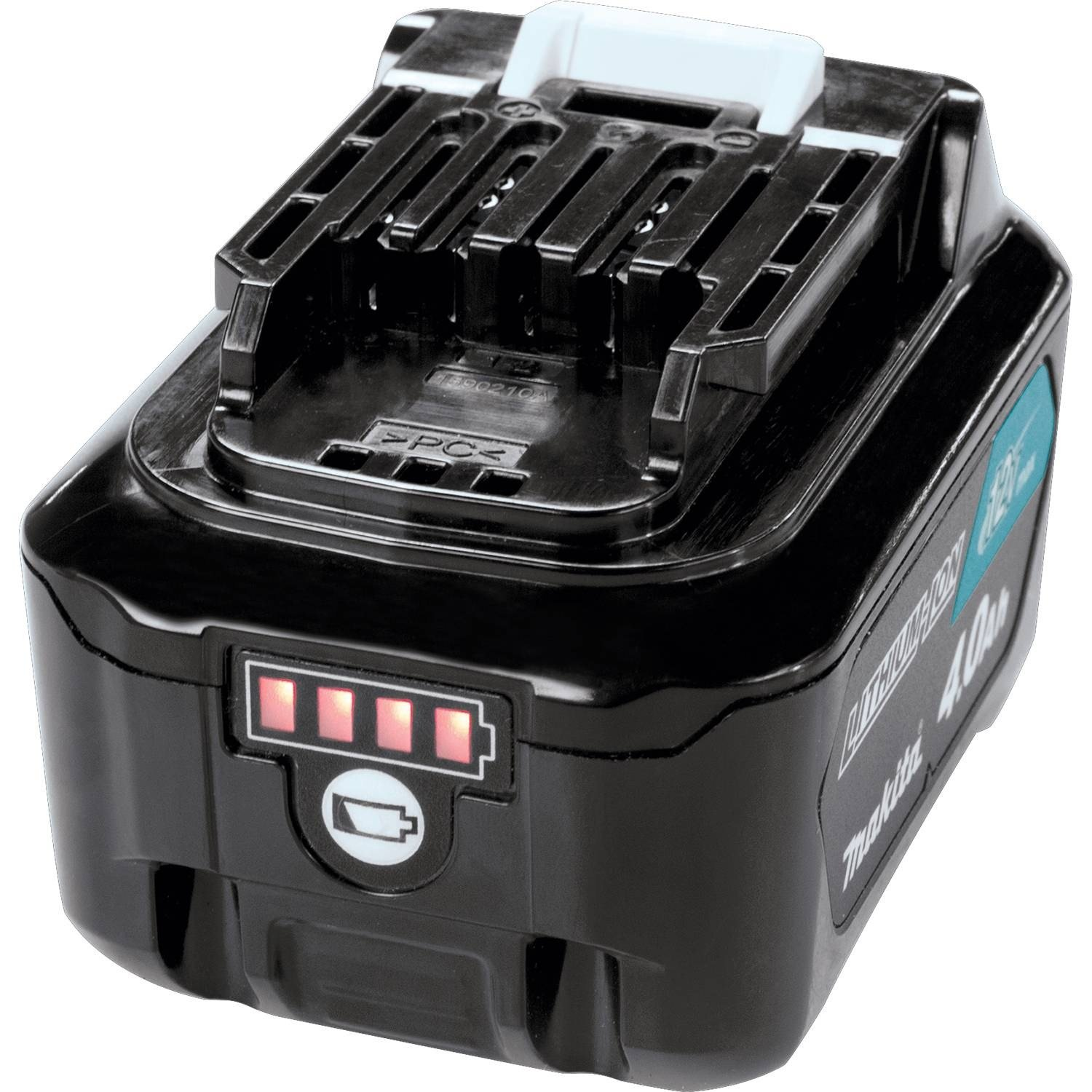 Makita BL1041B-2  12V max CXT Lithium-Ion 4.0 Amp Battery (2 Pack) by Makita (Image #2)