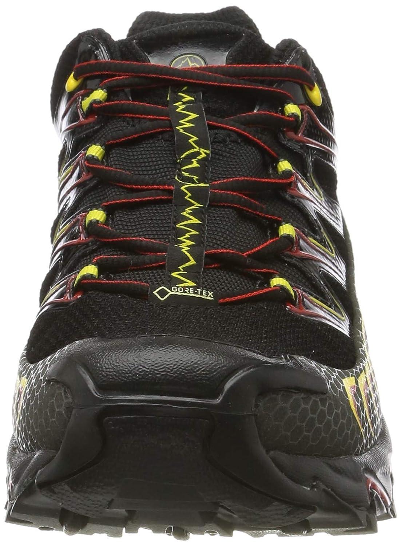 LA SPORTIVA Ultra Raptor GTX Black//Yellow Zapatillas de Senderismo Unisex Adulto