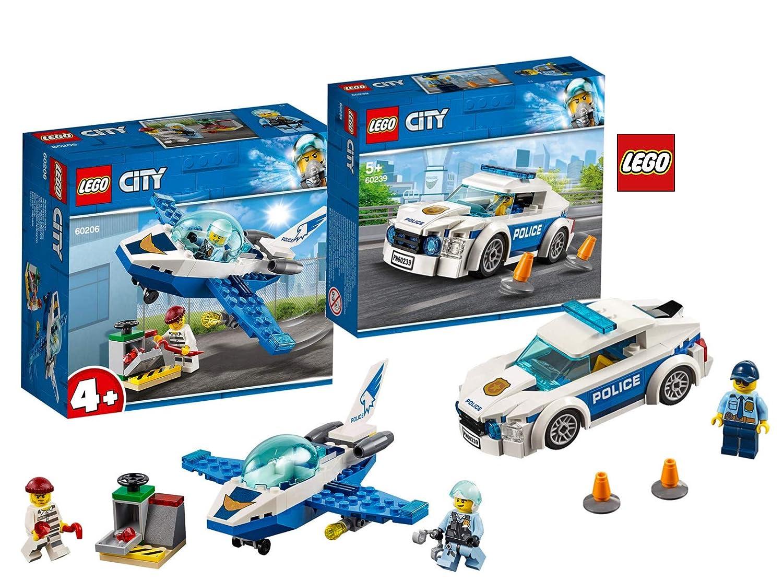 LEGO® City Police 60206 Polizei Flugzeugpatrouille LEGO Bau- & Konstruktionsspielzeug