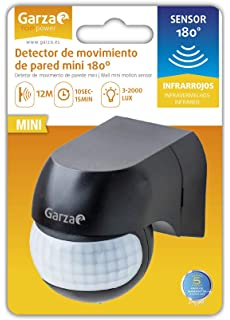 Garza Power - Detector de Movimiento Infrarrojos Mini de ...