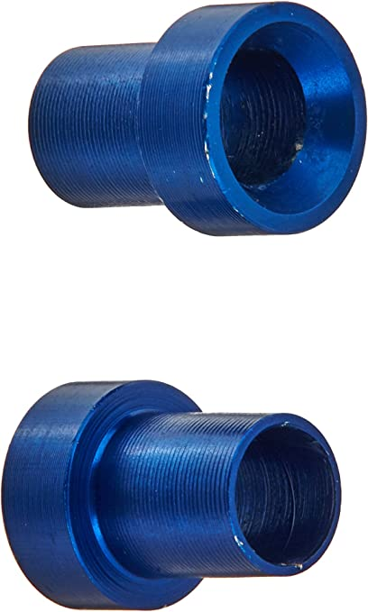Aeroquip FCM3752 Blue Anodized Aluminum 4AN Tube Cap Fittings Pack of 2