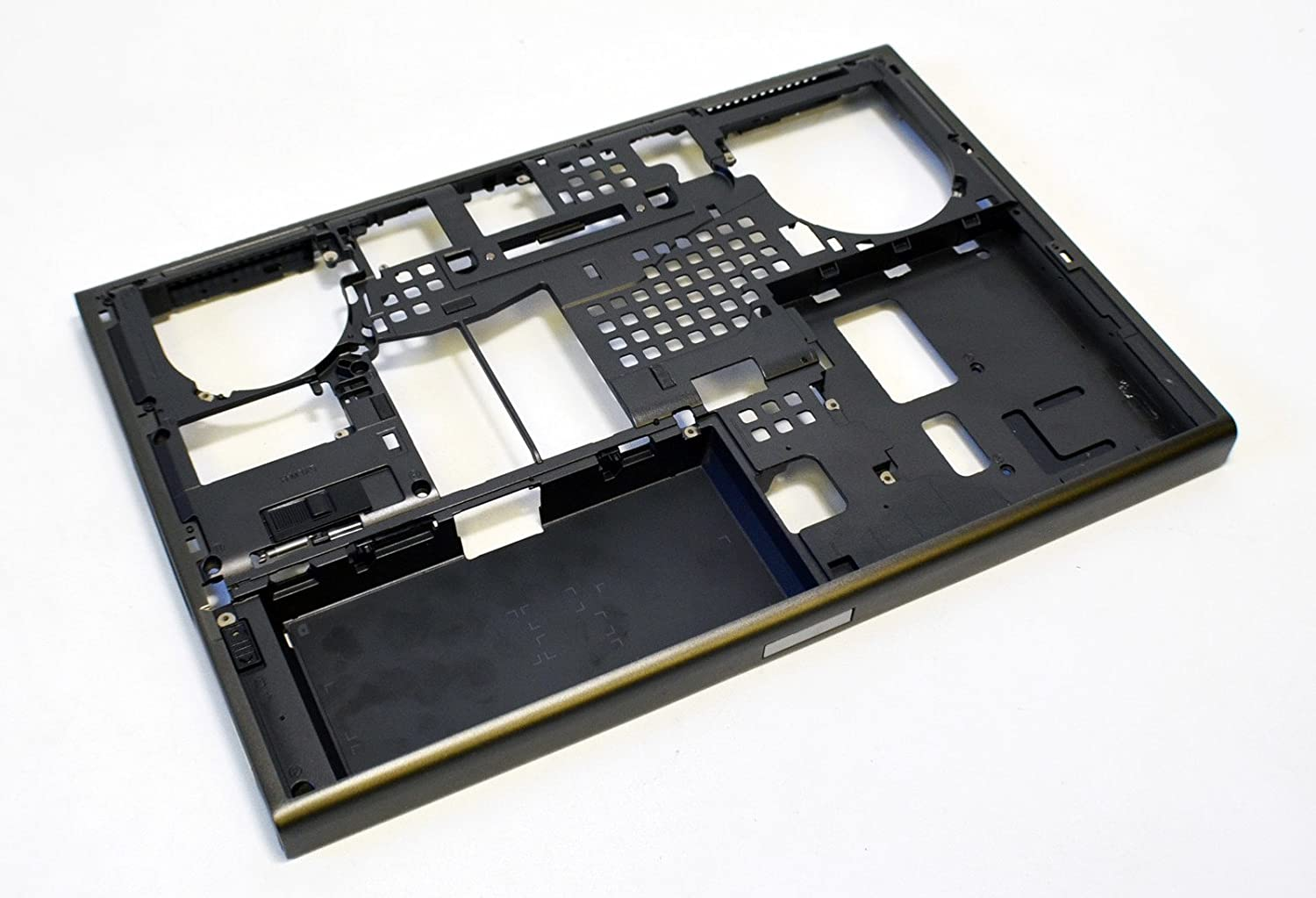 TVPD6 New Genuine OEM DELL Precision M4800 Laptop Lower Bottom Base Case Chassis Assembly Cover Plastic Housing Frame Enclosure g81k3 TVPD6