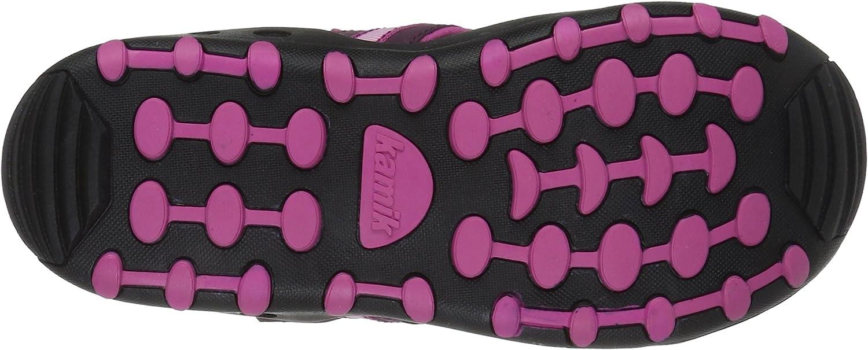 Plum 7 M US Toddler Kamik Girls Crab Sandal