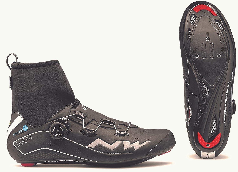 Northwave Chaussures dhiver Flash Arctic GTX Black pour v/élo de Route