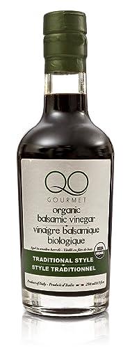 QO Organiczny gruboziarnisty ocet balsamiczny z Modeny