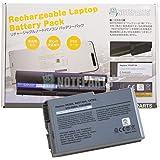 【NOTEPARTS】 Dell Latitude D500 D510 D520 D530 D600 D610 Inspiron 500m 600m用 Li-ion バッテリー 1X793/3R305/312-0068対応