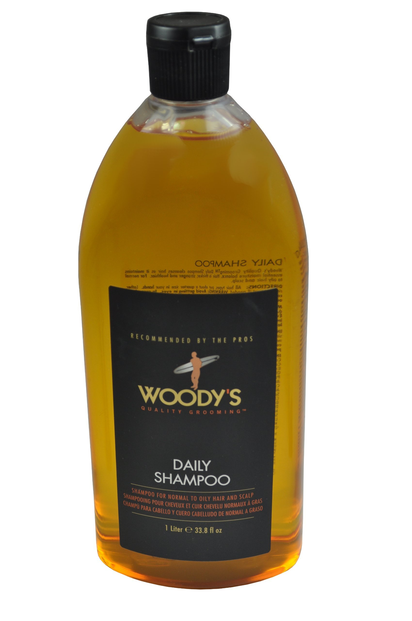 Woody's Daily Shampoo for Men, 33.8 Ounce