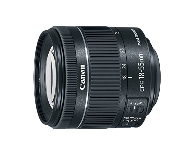Canon EF-S 18-55 f/4-5.6 is STM Camera Lenses at amazon
