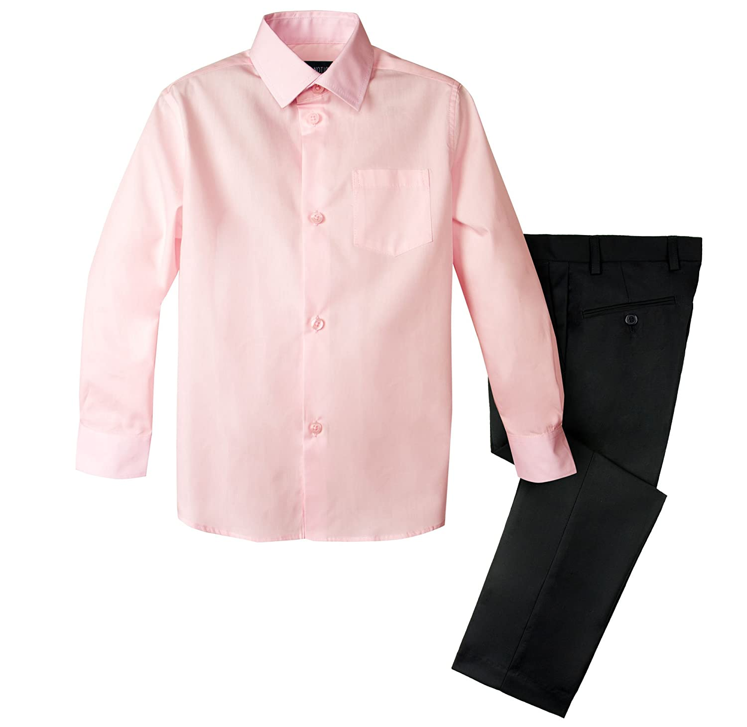 Spring Notion Boys 2-Piece Dress Pants and Shirt Set SN338S2-SNS-338S2