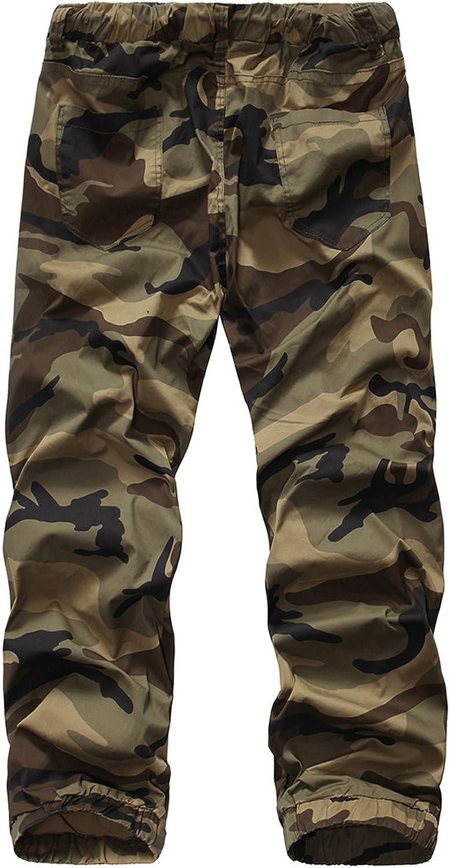 Rising ON Mens Casual Jogger Sportwear Baggy Harem Pants Slacks Trousers Camouflage