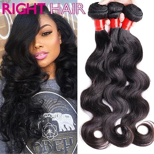 Right hair brazilian virgin hair 10a body wave 3 bundles 300g 20 right hair brazilian virgin hair 10a body wave 3 bundles 300g 20quot 22quot pmusecretfo Image collections