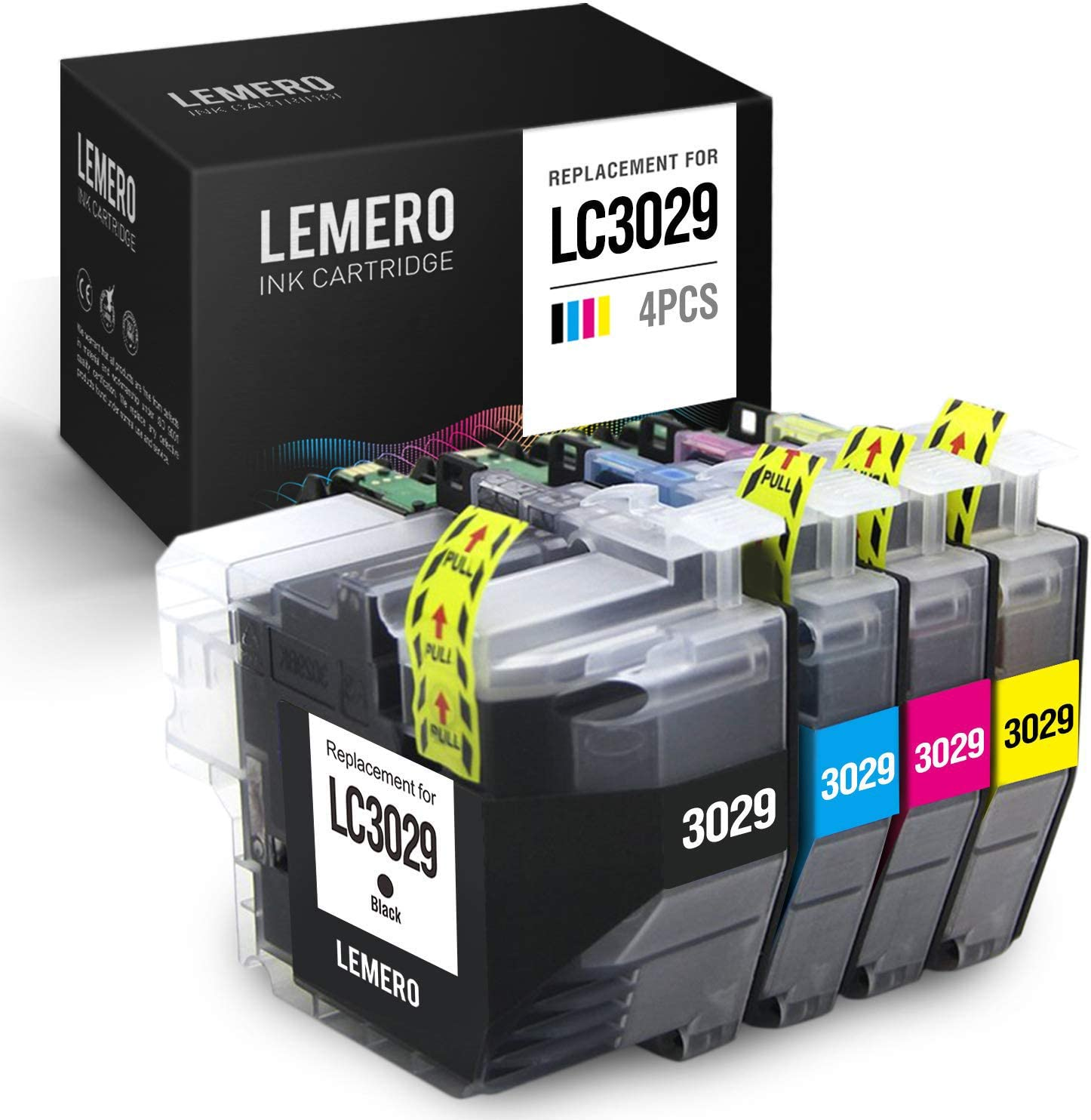 AM-Ink Compatible Ink Cartridge Replacement for Brother LC3029 XXL LC 3029 for MFC-J6935DW MFC-J5830DW MFC-J6535DW MFC-J5930DW MFC-J5830DWXL MFC-J6535DWXL 5 Pack