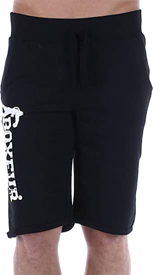 BOXEUR DES RUES - Shorts In Light Fleece with Bottom Turn-up ...