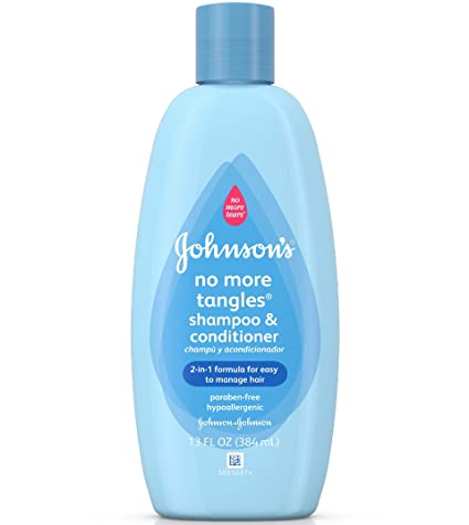 Shampoo para bebe de pelo rizado
