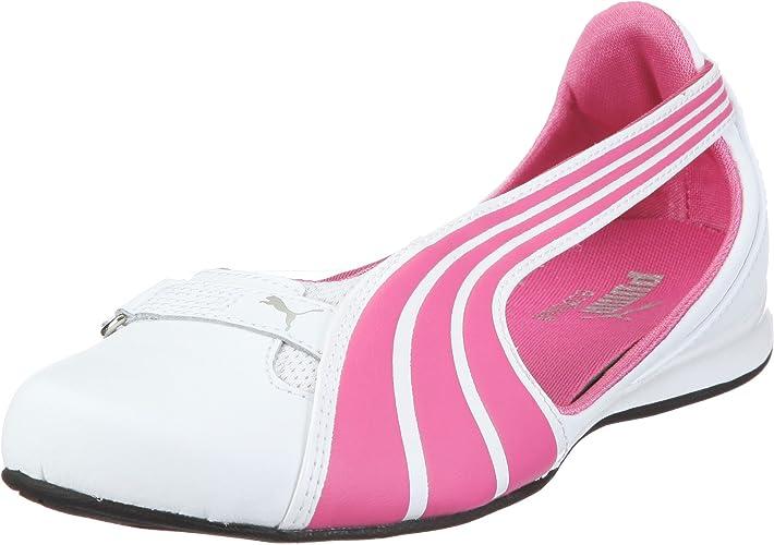 Obligatorio Sedante Tipo delantero  Puma Espera III L Jr Ballet Flats Girls Pink Pink/white-shocking pink-white  Size: 10 (28 EU): Amazon.co.uk: Shoes & Bags