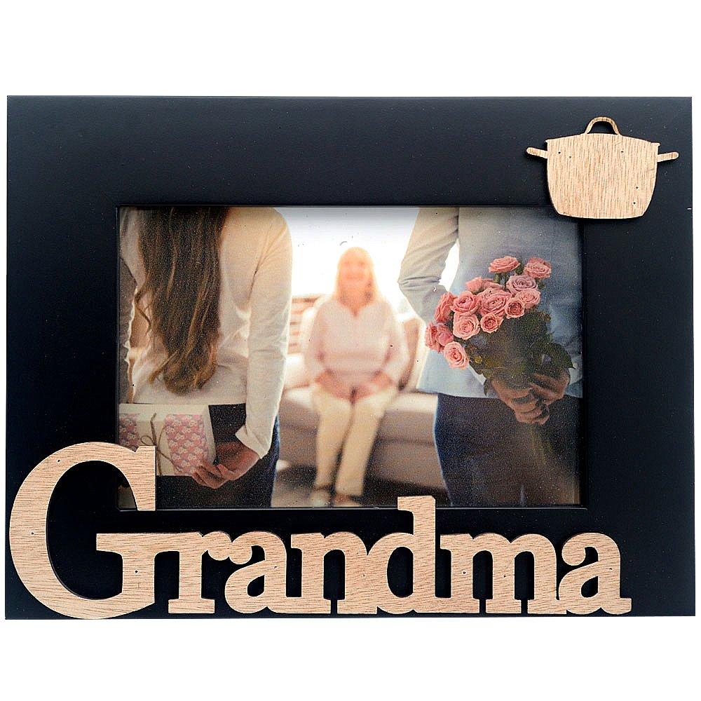 Cozzy Home Inc-I Love My Grandma Picture Frame, 4x6, Black