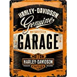 Nostalgic-Art 26178 | Retro Tin Sign Wall Plaque 20x15cm | Harley-Davidson Garage